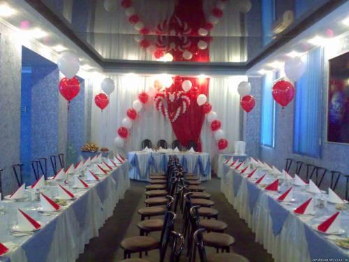 Свадебное оформление зала свадебное